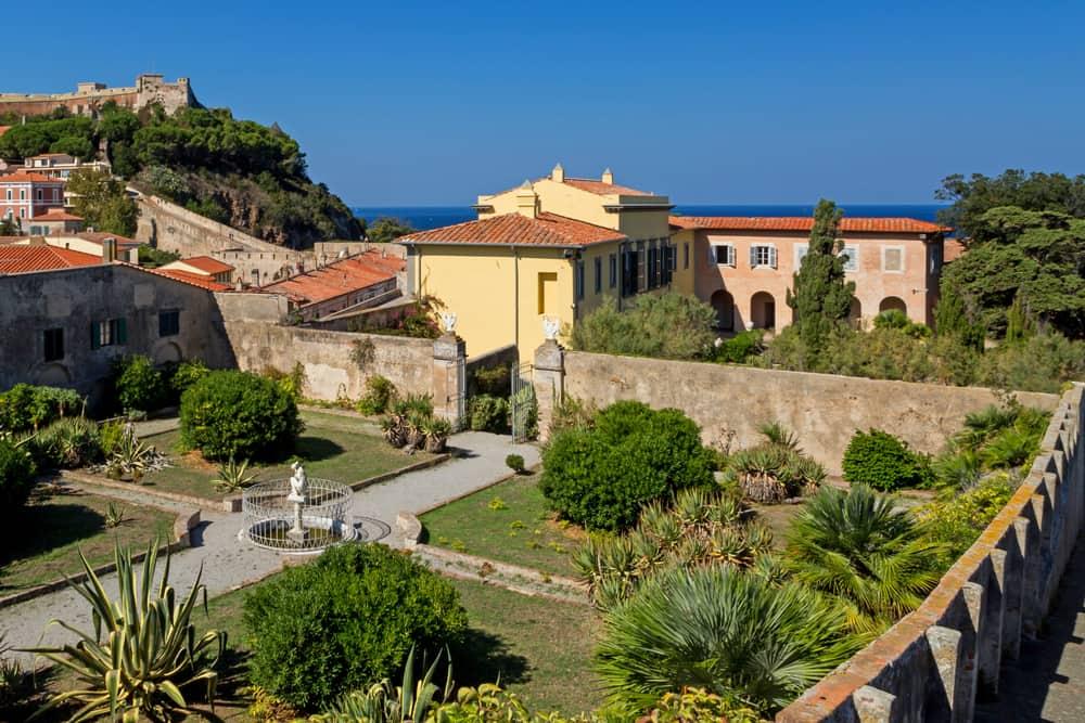 Le ville sul mare da sogno in Toscana e Liguria