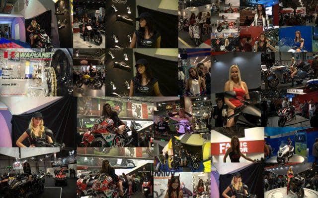 Le foto delle ragazze più belle del Salone della moto Milano 2008