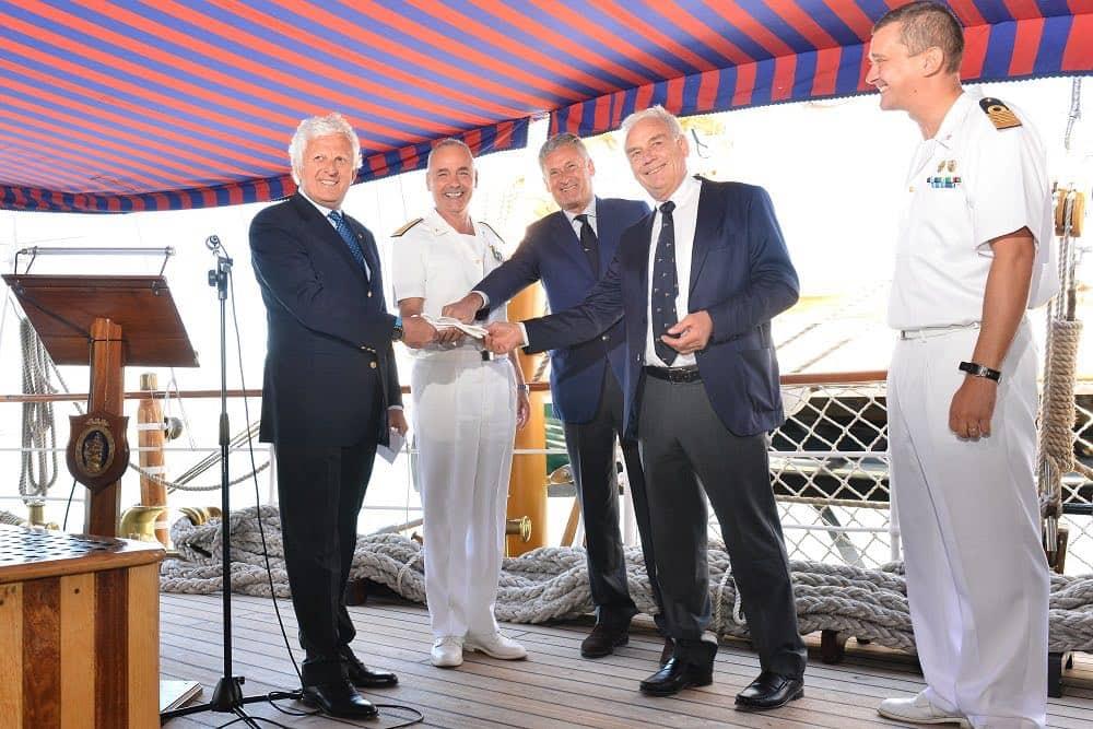 """La Marina Militare presenta la """"Settimana velica internazionale accademia navale e citta' di Livorno 2018"""""""