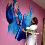 """Murales su commissione 1 150x150 - Una bottega artistica dove l'Arte viene realizzata """"alla vecchia maniera"""""""