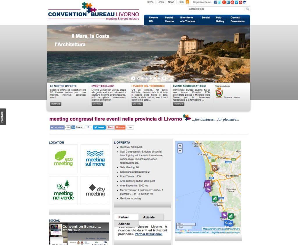 Gestione e organizzazione di meeting e congressi in Toscanail nuovo sito web